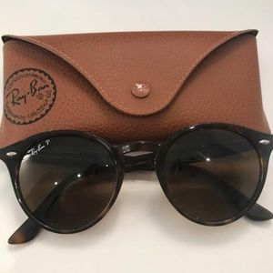 Ray-Ban Polarized Sunglasses, RB2180 Round